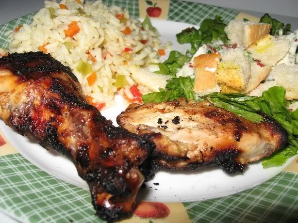 Cuisses de poulet au goût de shish taouk Poulettaouk