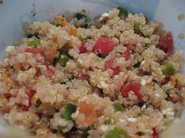 Quinoa en salade Quinoasalade
