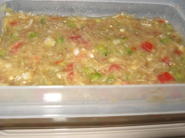 Salade d'aubergine grillée Saladeaubergine