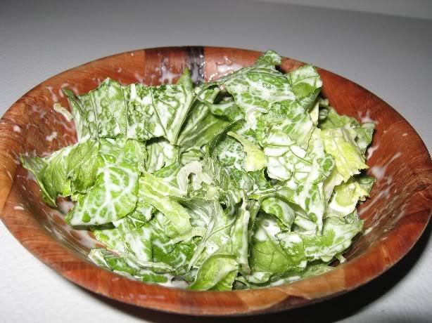 Salade à la crème Saladecreme