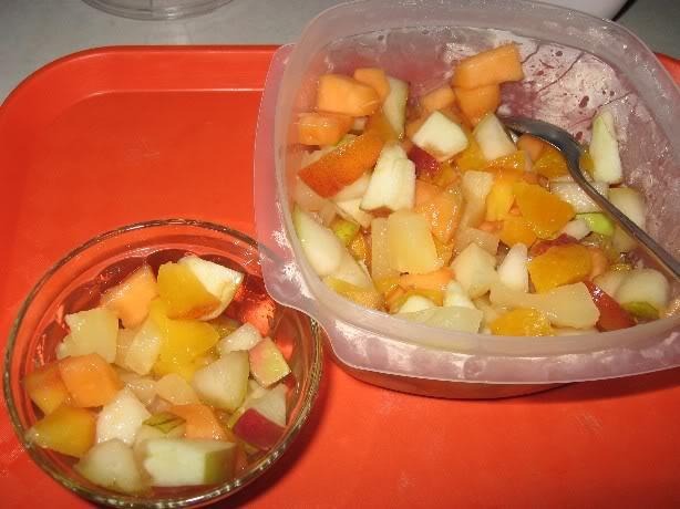 Salade de fruits maison Saladedefruits