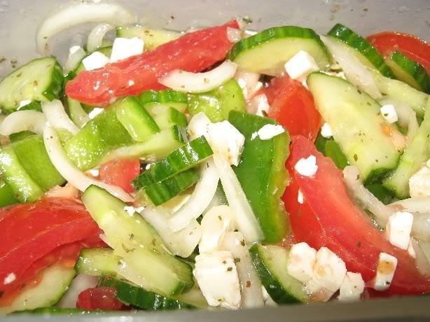 Salade Grecque Rapide Saladegrecque