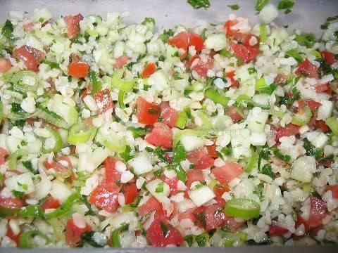 Tabbouleh inspiré de EatingWell Tabbouleh