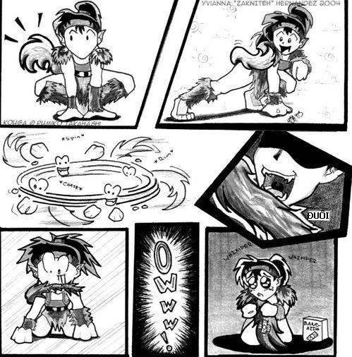 Cosas graciosas que e visto en Internet sobre manga/anime. Kogaandhistail