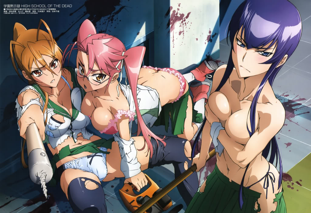 High School of the Dead 1277861418139