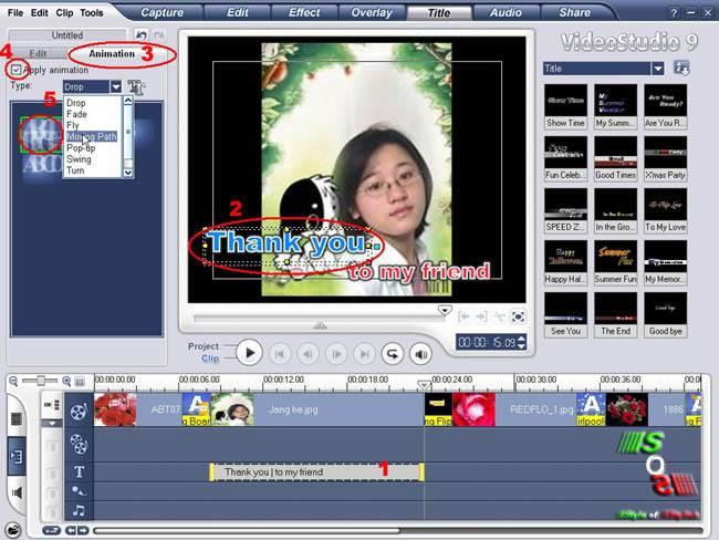 Hướng Dẫn Làm Film Trên Video Studio9 Chenchu-taoanimationchotext