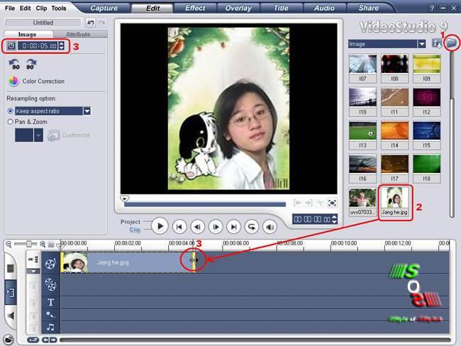 Hướng Dẫn Làm Film Trên Video Studio9 Chonduongdanrechuotchinhthoigian