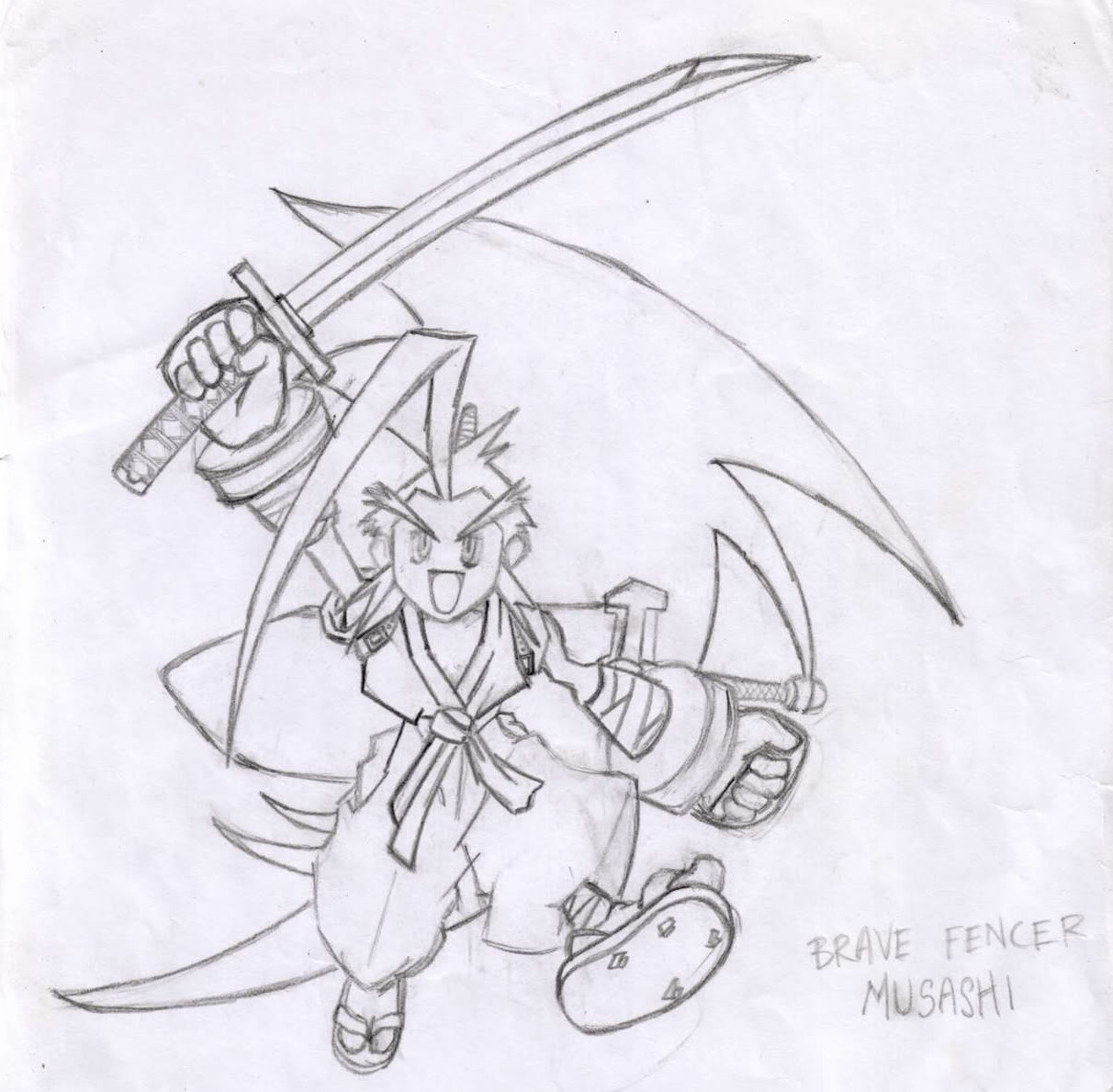 Post your Fan-art ~ Artwork - Page 2 Musashi