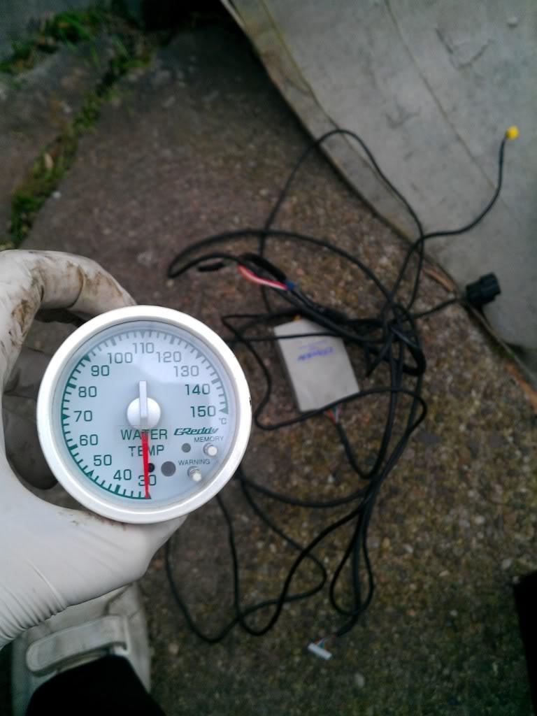 GReddy Link 60mm ~Water temperature gauge. IMAG0411
