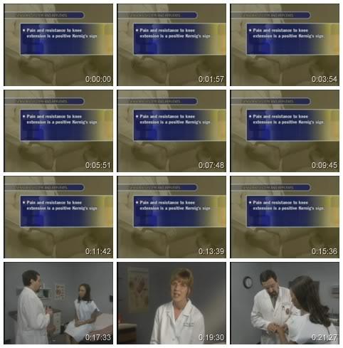 Bates' Visual Guide to PE 4th ed 2005 :: فيديوهات كلينيكال جميلة 13