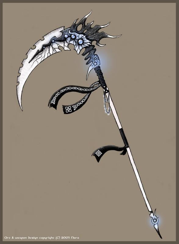 Moon Beast Scythe IceScythe
