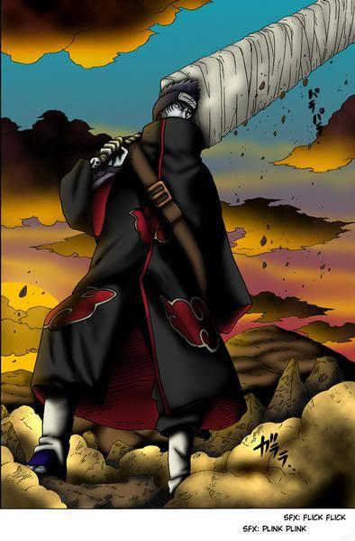 The Akatuski (Spoiler: Pictures) Kisame