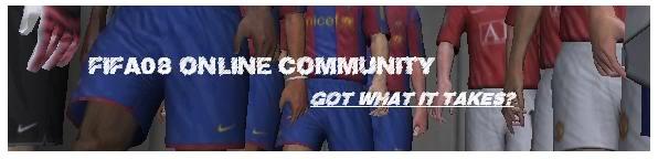 FIFA08 OnLine Community Forum