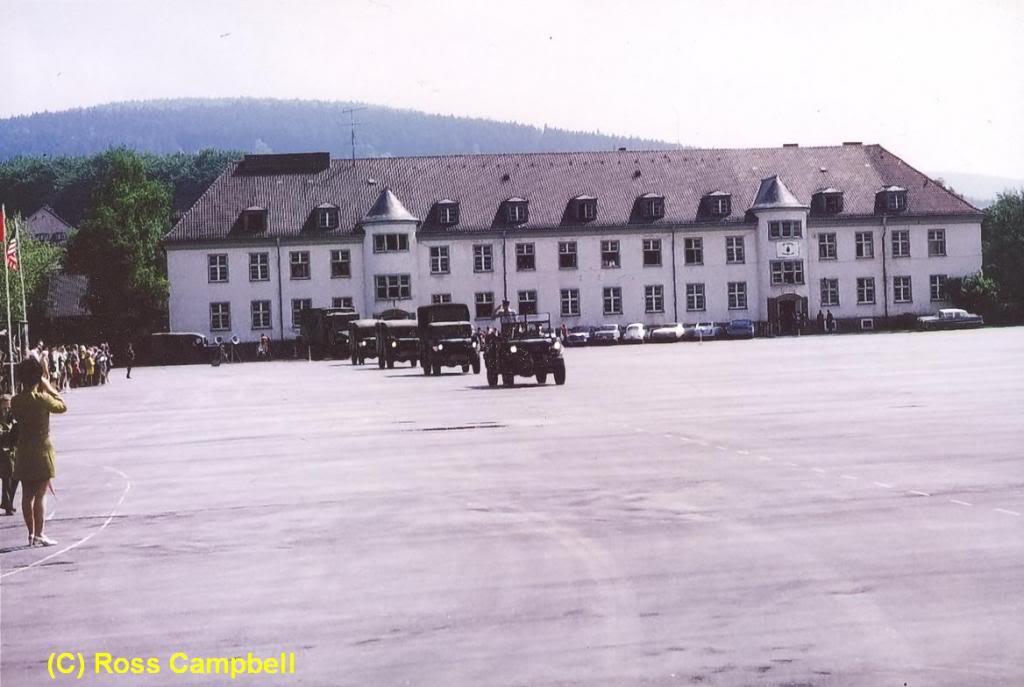 Final Parade of 1 SSM Battery, RCA, Fort Qu'Appelle, 1970 RossCampbellscan47FortQuAppelle1970