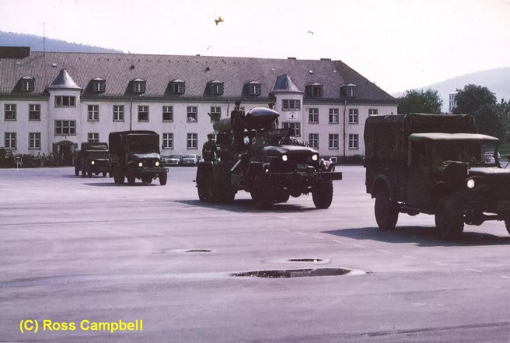 Final Parade of 1 SSM Battery, RCA, Fort Qu'Appelle, 1970 RossCampbellscan49FortQuAppelle1970