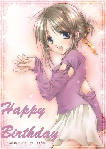 Happy Birthday Mica!! BirthdayAnimeGirl