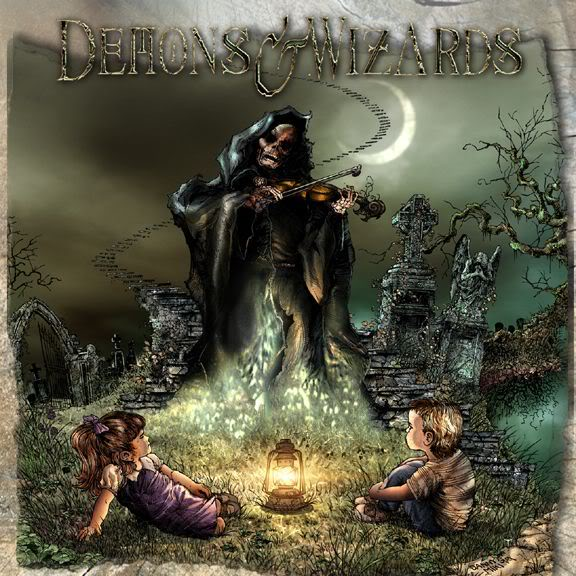 Demons And Wizards: Sus dos discos!! Dwc