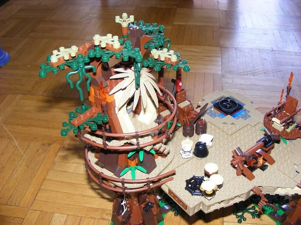 Lego Star Wars 10236 Village des Ewoks 10236-92_zps690zji3m
