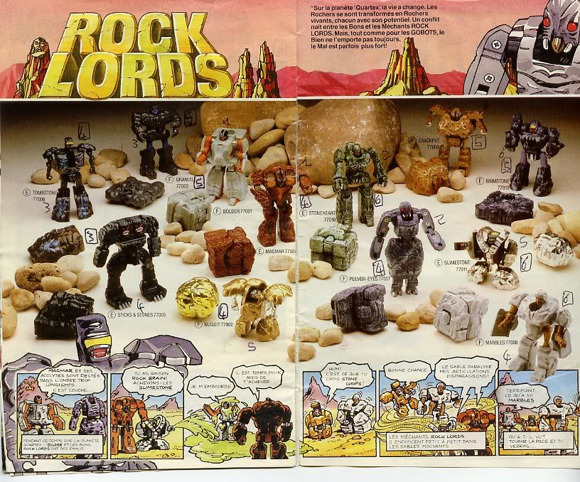 Rock Lords (Bandai) 1985-1987 Catagobot8
