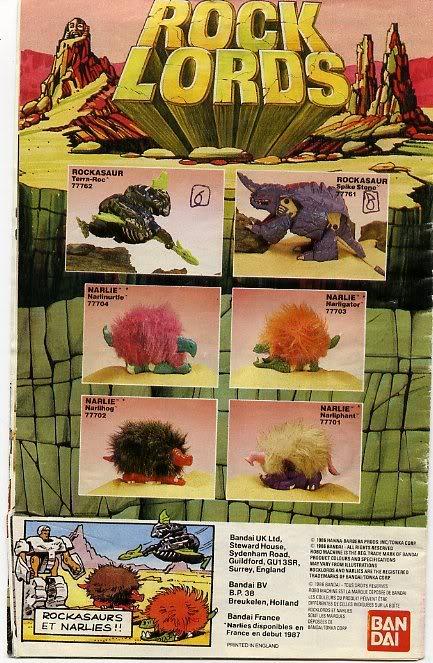 Rock Lords (Bandai) 1985-1987 Catagobot9