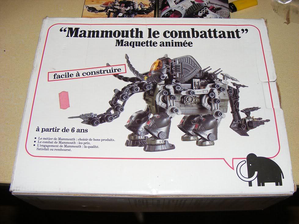 Zoids (Tomy) 1983-1988 Frenchmammoth
