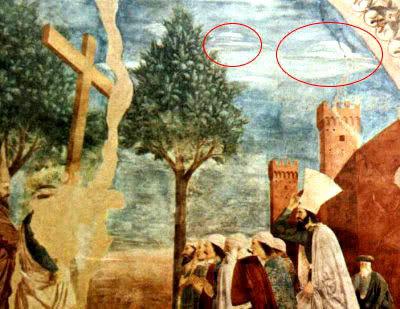 Pinturas antiguas relacionadas con la Biblia 2ovnis_pinturas_pierofrancesca