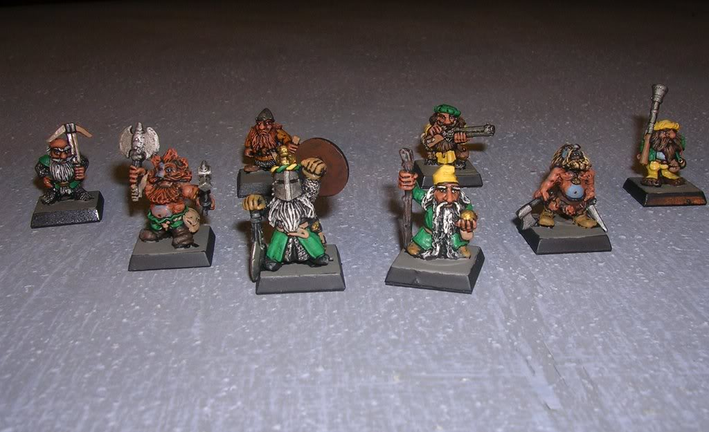 Ironbull's Painted Warbands Warband