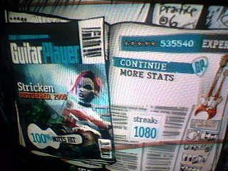 Guitar Hero Scores STRICKENFC