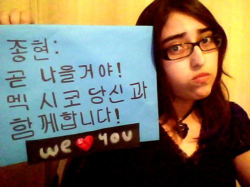 [PROYECTO] APOYEMOS A JONGHYUN!! Tristi