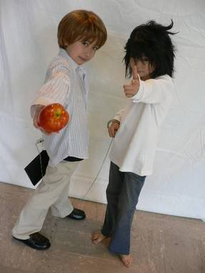 Cosplays ultramega kawaii de Death Note Chividn1