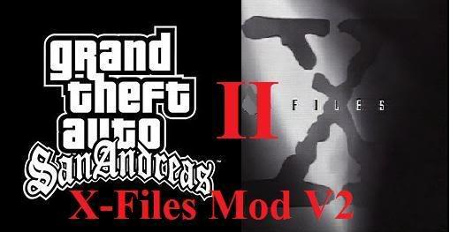 [CLEO|REL|MEGAMOD] GTA X-Files II (2) X-filesmodV2Logo