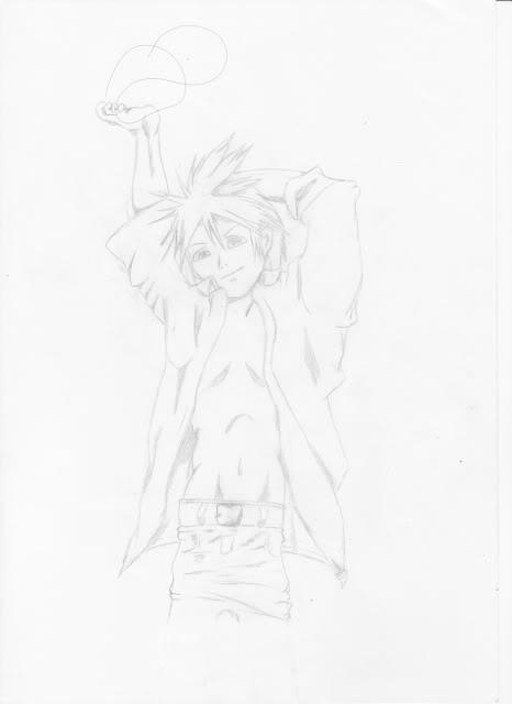 My sister drew Len Top