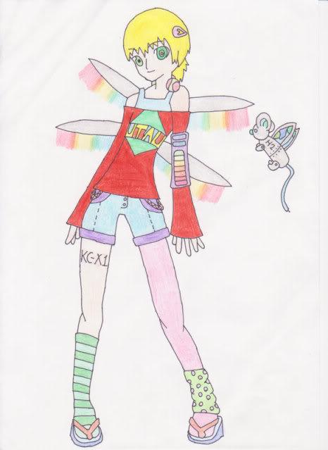 Yuugi Hakune Act 2 design contest RESULTS Yuugi-design
