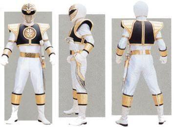 Power Ranger Stats WhiteRanger