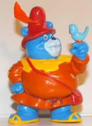 LES GUMMI - GUMMI BEARS (Fisher Price) (Kellogs) 1985 GummiBearTummi