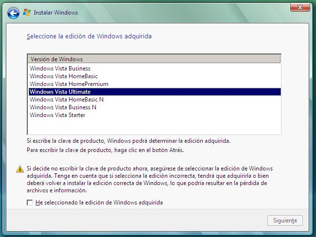 Windows Vista + SP2 beta DVD X86 versión MSDN Beta2-2
