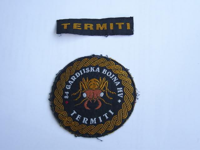 insignes Croate H.V et H.V.O 1991/1995 SNB10138
