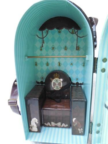 Angelic Pretty Chess Chocolate Mint doll case from Groove USA review AngelicPrettycase12