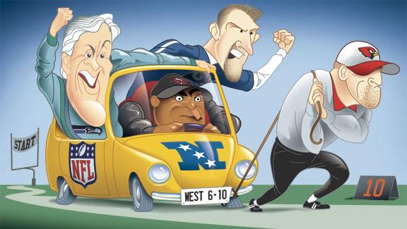 Los Angeles Rams , Arizona Cardinals , San Francisco 49ers , Seattle Seahawks - Page 3 Nfcwest