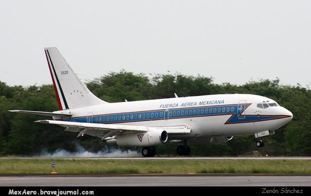 Inventario  de  aeronaves de  la  FAM  ( actualizado 23 Febrero 2016 ) Zenon3520B-737-200CME0807