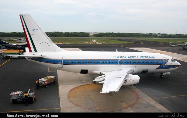 Boeing 737 Fuerza Aérea Mexicana ZenonB-737SEDENACME08-07