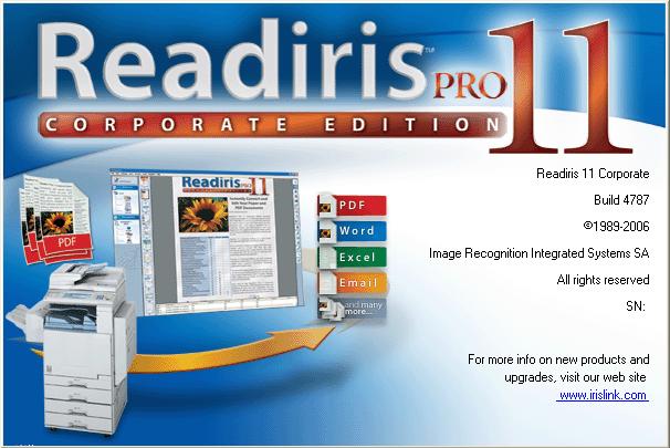 Readiris PRO 11 لتحويل النصوص العربية PDF الى وورد Ghfff