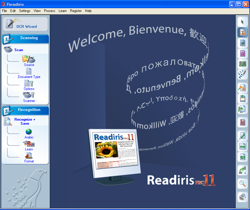 Readiris PRO 11 لتحويل النصوص العربية PDF الى وورد Hanan4345