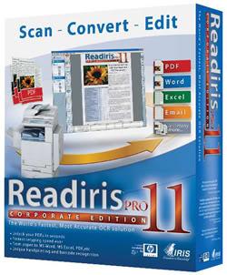 Readiris PRO 11 لتحويل النصوص العربية PDF الى وورد Radras