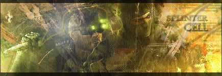~{Matt Art Work}~ Creation_SplinterCell