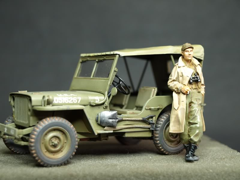 jeep willys tamiya 1:35 réalisation et montage de Phillipos P4254456
