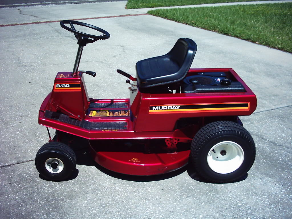 Murray Racing Mower : What kind of mower can be used as a racing