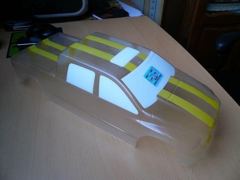 Comment peindre une carrosserie lexan simplement ? P1050779800x600