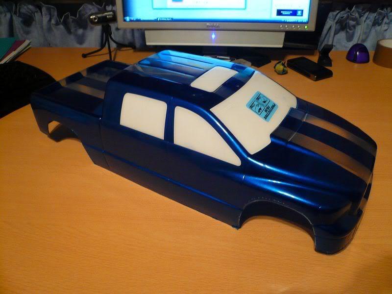 Comment peindre une carrosserie lexan simplement ? P1050787800x600