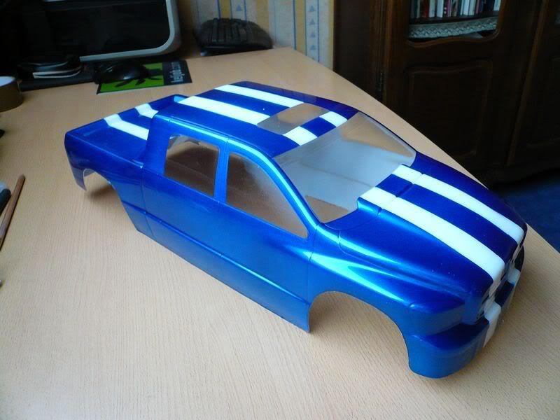 Comment peindre une carrosserie lexan simplement ? P1050798800x600